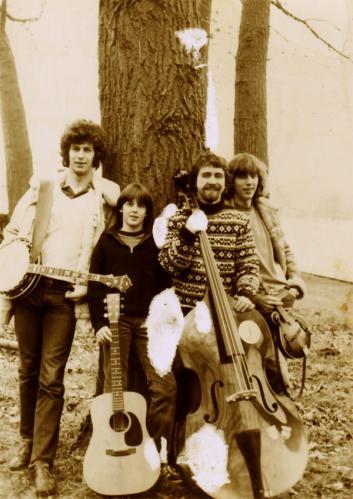 Die Roving Gamblers 1981, von links: Sievert Ahrend, Heiko Ahrend, Hannes Staak, Hendrik Ahrend