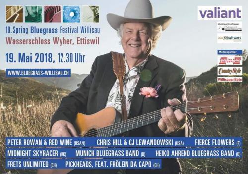 Heiko Ahrend Bluegrass Band, Willisau (CH), Mai 2018